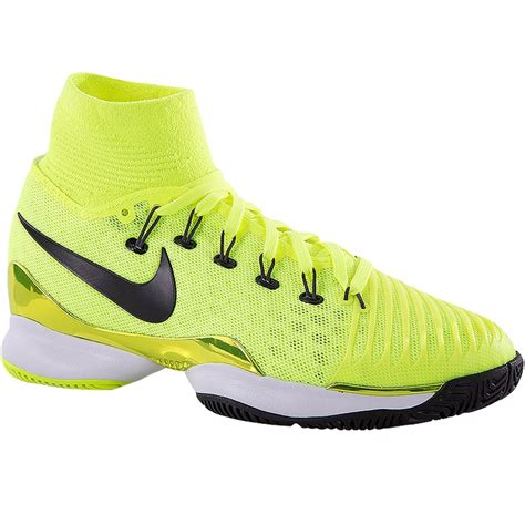 nike tennis shoes nike air zoom ultrafly junior tennis shoe volt black