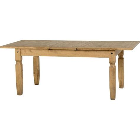 buy corona mexican extending dining table distressed waxed pine from our dining tables range tesco