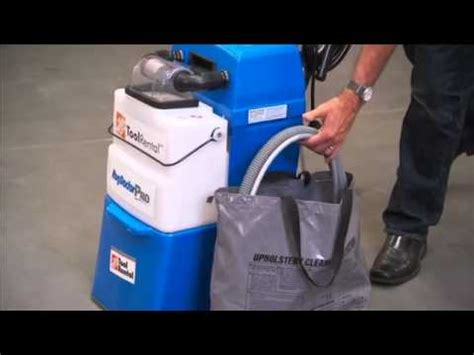 host liberator carpet cleaning machine how to use