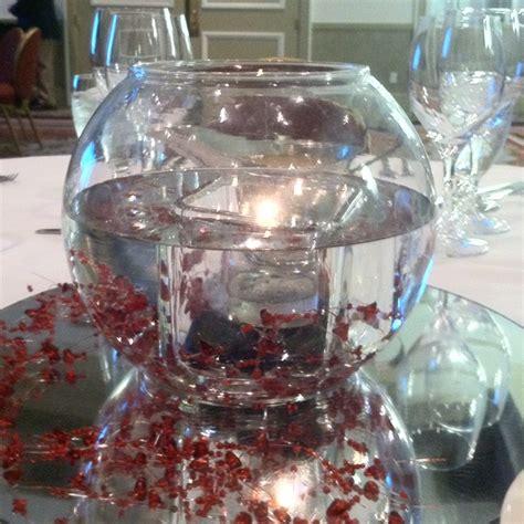 water centerpiece water centerpiece candles event decor