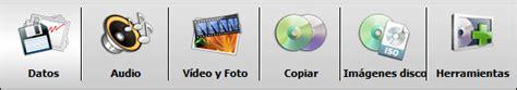 barra de herramientas superior avs4you gt gt avs disc creator gt gt barra de herramientas superior