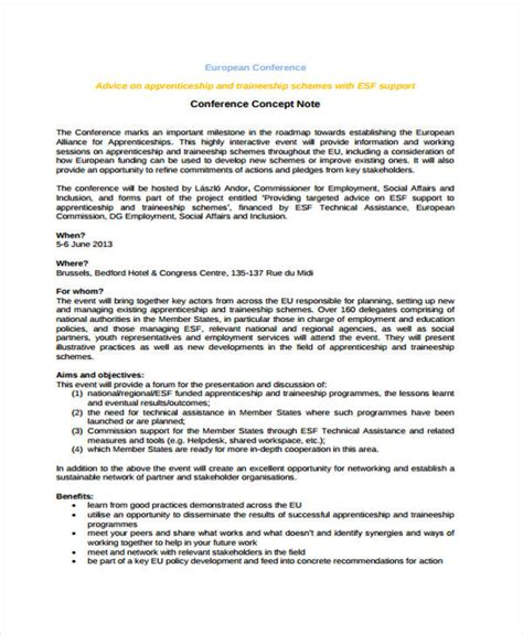 sample concept paper  funding  concept proposal