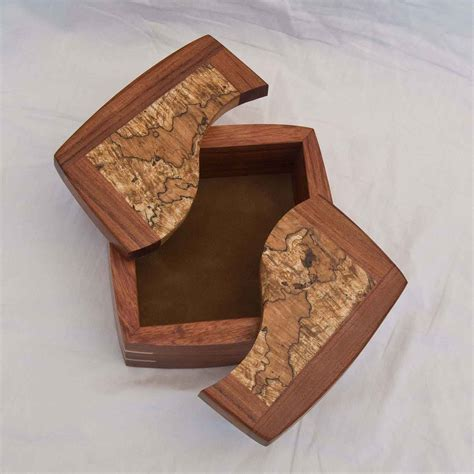 decorative trinket boxes handcrafted  exotic woods