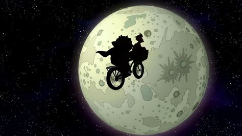 futurama moon show tv wallpaper
