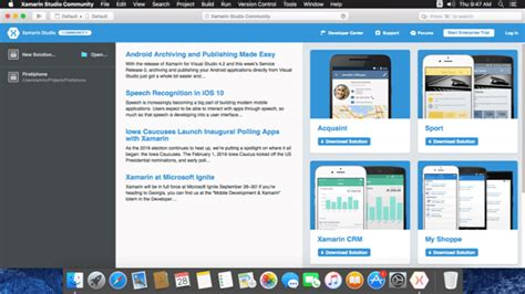 xamarin studio tutorial for beginners build ios apps in xamarin studio using windows pc