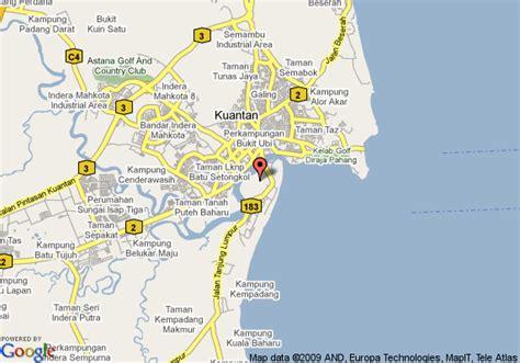 eastana cherating resort map map of villa cherating kuantan