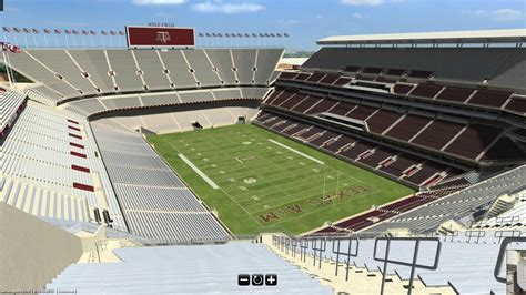kyle field section map interactive 3d tour of 2015 kyle field good bull hunting