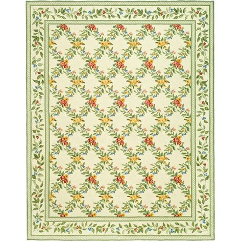 9 x 11 area rug safavieh chelsea ivory 8 ft 9 in x 11 ft 9 in area rug hk60a 9 the home depot