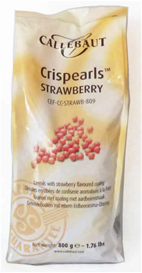 Callebaut Crispearls Stramberry 800 Gram callebaut quot crispearls strawberry quot 800g 1 76 lbs bag