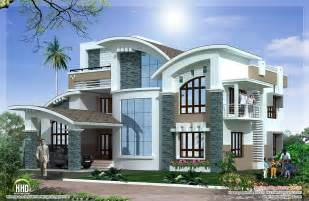 Luxury Home Designs - mix luxury home design kerala home design architecture