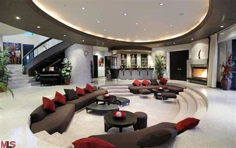 la modern mansion living room home ideas pinterest