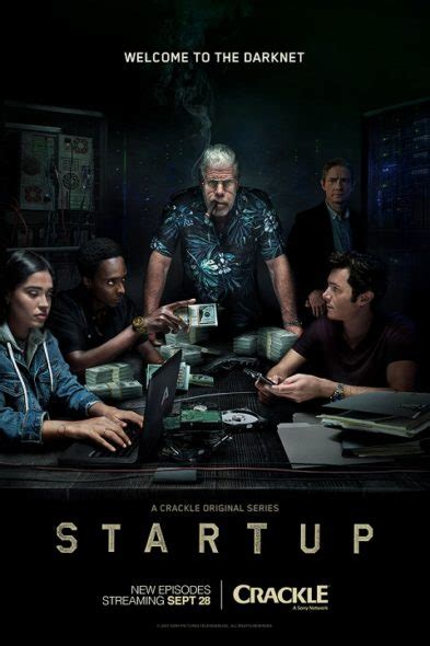 up film beginning startup first look season two trailer art released by