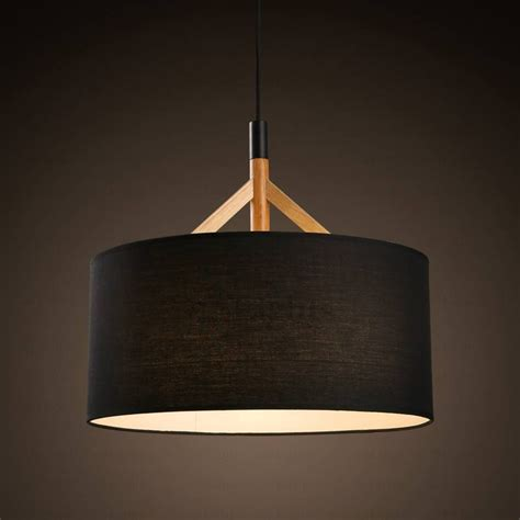 Drum Shade Pendant Light Fixtures 15 Best Ideas Of Black Drum Pendant Lights