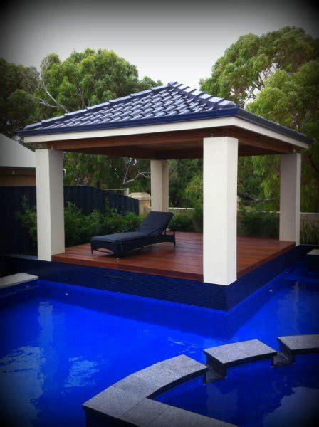 Cabana Pool House by Perth Patios Pergolas Cabanas Timber Decking Balia