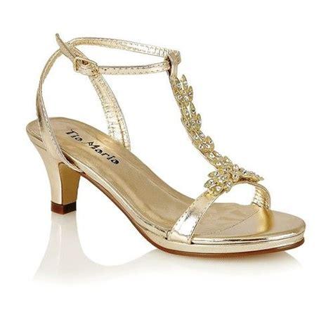 Fancy Sandals For Wedding by New Low Heel Fancy Bridesmaid Sandals Wedding