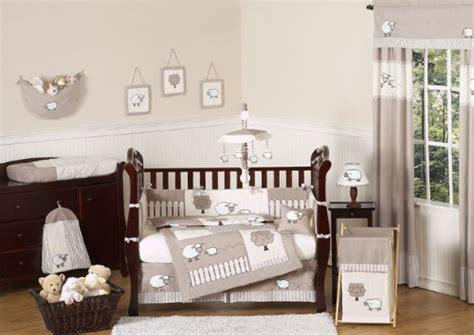 unisex crib bedding sheep baby bedding