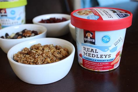 Shelf Of Oatmeal by Easy Breakfast With Quaker Real Medley Yogurt Cups The