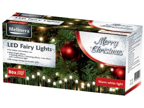 melinera led light decoration melinera led fairy lights lidl great britain