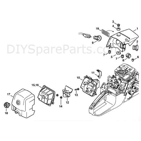 stihl ms 361 parts diagram stihl ms 361 chainsaw ms361 c b parts diagram shroud