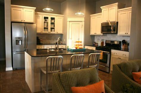White Cabinets Black Countertops Gray Walls by Black Pearl Granite Kitchen Benjamin