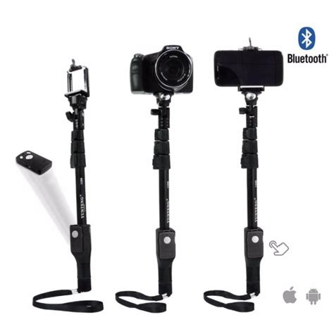 Tongsis Wireless yunteng tongsis wireless bluetooth monopod yt 1288 oem black jakartanotebook