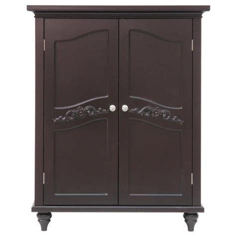 2 door floor cabinet 2 door floor cabinet in dark espresso elg 571