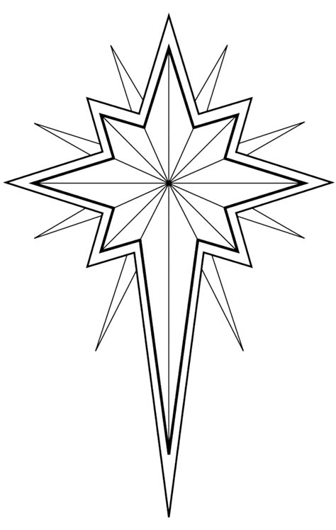 coloring pages of the christmas star christmas star coloring pages coloring book area best