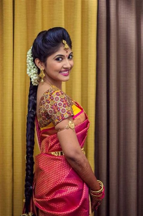 simple hairstyles at home in tamil south indian bridal makeup 30 bridal makeup ideas