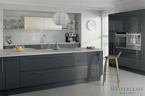 Grey Gloss Kitchen Cabinets 25 Best Ideas About Grey Gloss Kitchen On Gloss Kitchen High Gloss Kitchen