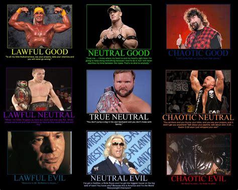 Pro Wrestling Memes - pro wrestling alignment chart by mrgoggleswv on deviantart