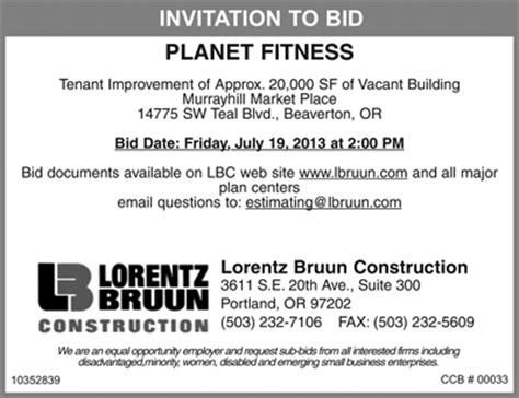 invitation to bid template construction invitation for bid custom invitations