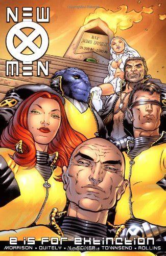 new x men by grant 0785132538 new x men vol 1 e is for extinction v 1 av grant morrison