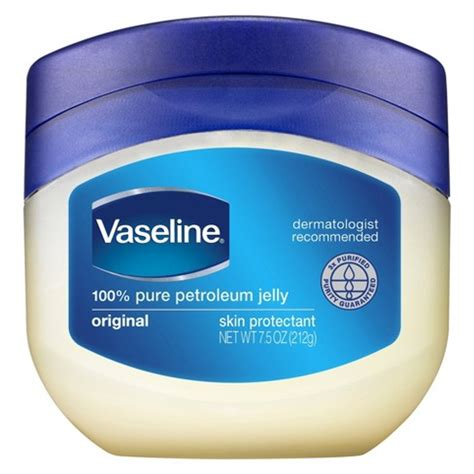 Vaseline Petroleum Jelly 106g vaseline original petroleum jelly 7 5 oz target
