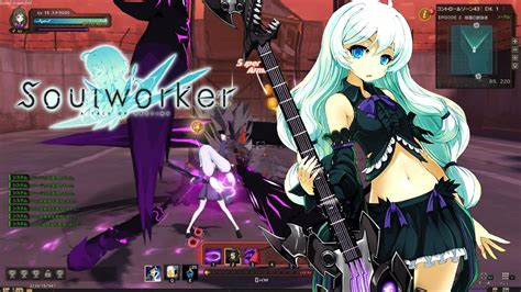 soul worker jp howling guitar gameplay preview youtube
