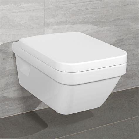 Bidet Eckig by Villeroy Boch Architecturan Seat White 5684hr01