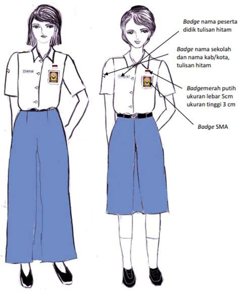 Gesper Ikat Pinggang Sabuk Anak Sekolah Sma Smk Smea Hitam permendikbud nomor 45 tahun 2014 tentang pakaian seragam