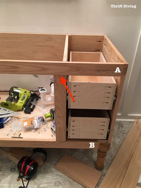 how to build a bathroom cabinet building a diy bathroom vanity part 5 making cabinet doors