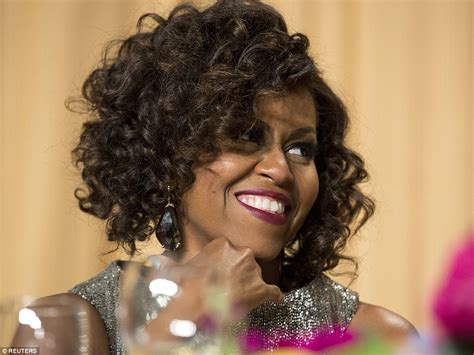 michelle obama wears wigs first lady michelle obama debuts new curly wig hairstyle