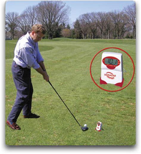 golf ball swing speed com sports sensors swing speed radar with tempo