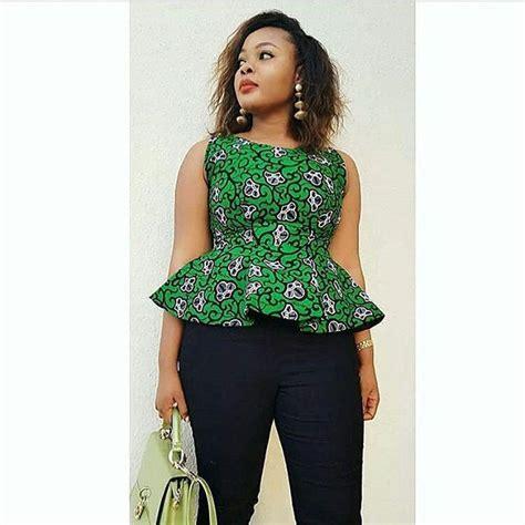 Simple African Ladies Tops