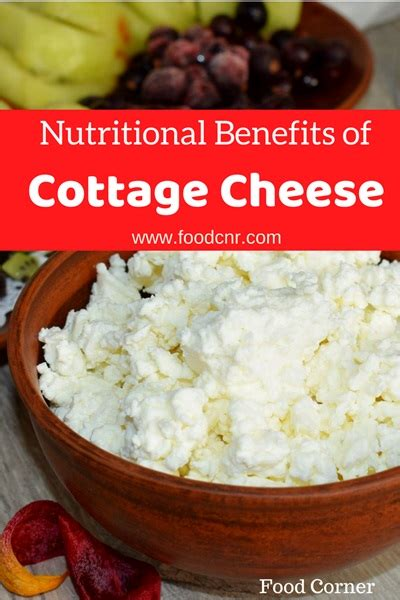 Advantages Of Cottage Cheese by Nutritional Benefits Of Cottage Cheese Food Corner
