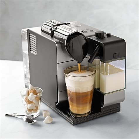 delonghi nespresso lattissima plus espresso maker williams sonoma