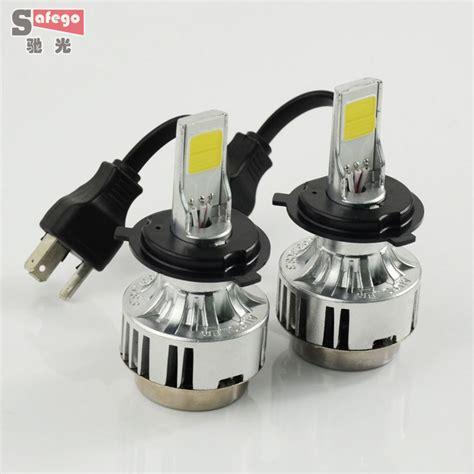 Lu Led H4 Mobil aliexpress buy h4 66w cob h4 led headlight bulbs