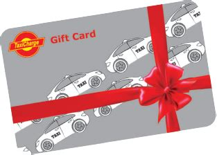 Taxi Gift Card - taxicharge products ways to pay for taxi services