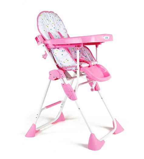 comfy baby high chair buy luvlap baby high chair comfy 8083 pink in india