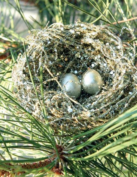 bird s nest clip ornament victorian christmas