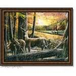 home interior deer pictures home interior deer buck fawn picture barn retired 07 10