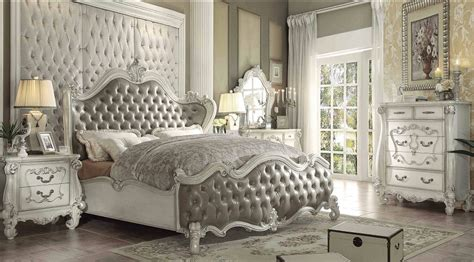 versailles bedroom furniture collection versailles collection 21150 acme bedroom set