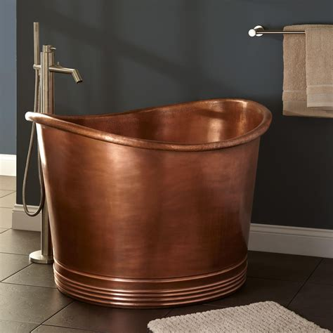 japanese bathtubs 41 quot massa copper japanese soaking tub bathroom