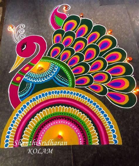 art design rangoli 55 best peacock images on pinterest peacock peacocks